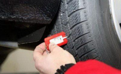 как проверить износ шин