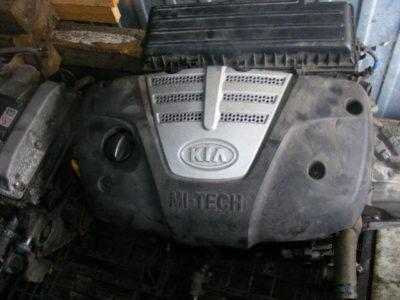 киа рио ремонт двигателя