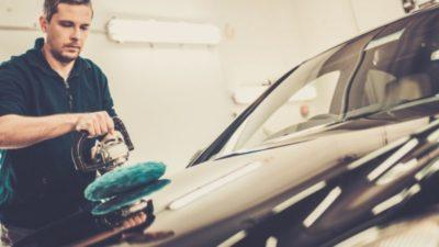 как полировать машину полировочной машинкой