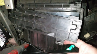 рено меган 3 замена салонного фильтра