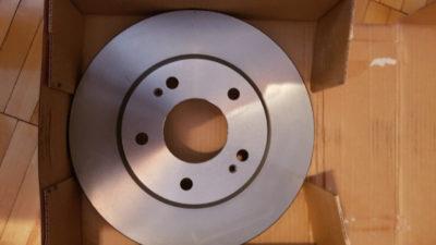 замена тормозных дисков киа спортейдж 3