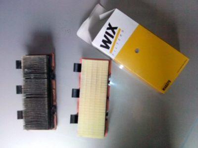 рено меган 2 замена воздушного фильтра