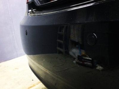 установка парктроника на хендай солярис