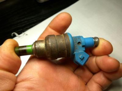 как почистить инжектор на ваз 2110