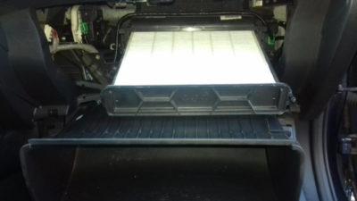 замена салонного фильтра ситроен с4