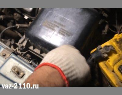 ваз 2110 замена воздушного фильтра
