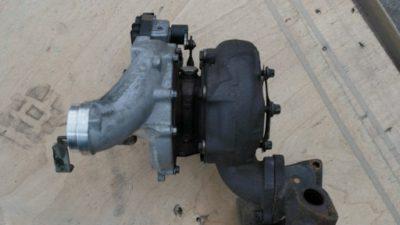 замена турбины рендж ровер