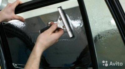 как клеить пленку на авто