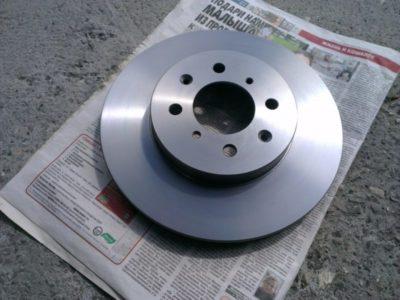 замена тормозных дисков шевроле круз