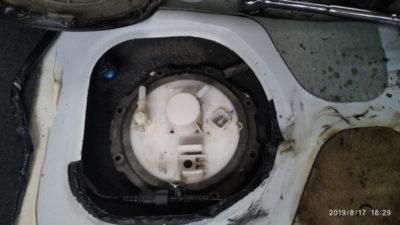 замена топливного фильтра ниссан х трейл