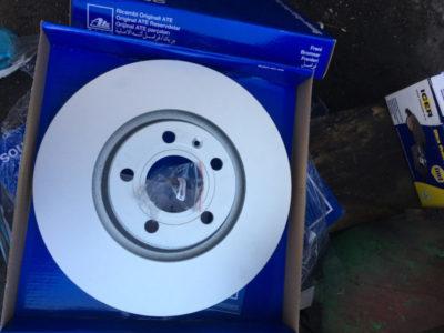 замена тормозных дисков ауди а4