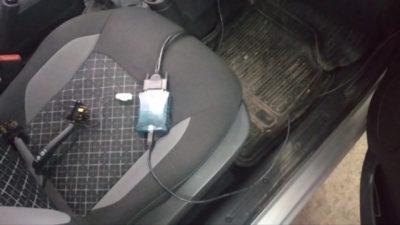 установка подогрева сидений лада гранта