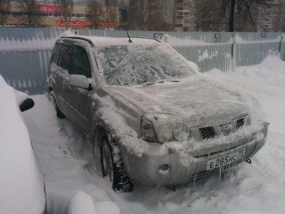ниссан не заводится в мороз