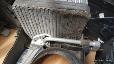 киа рио замена радиатора печки