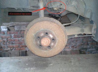 мазда 3 замена задних колодок