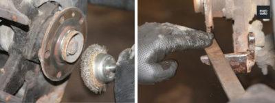 замена тормозных колодок на лада ларгус