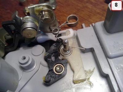 ремонт замка багажника рено логан