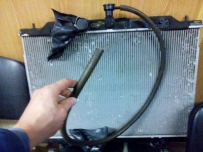 замена радиатора ваз 2110