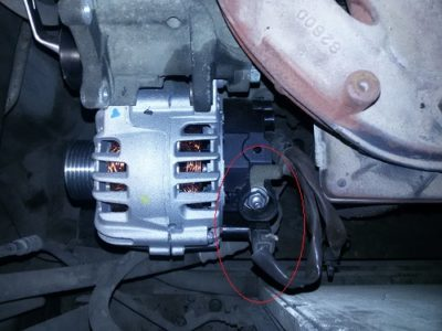 как снять генератор на приоре с кондиционером