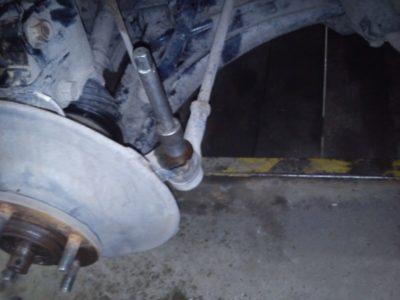 ваз 2107 замена рулевых тяг
