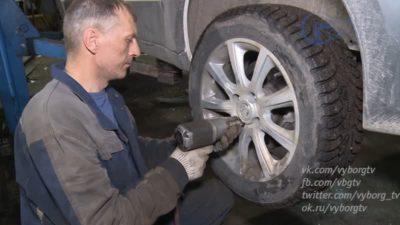 зимние колеса когда менять