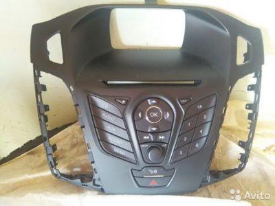 головное устройство форд фокус 3