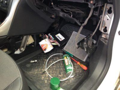как почистить кондиционер в машине