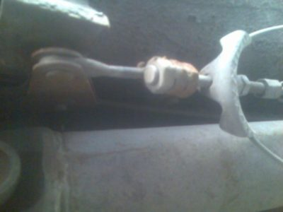 замена троса ручника рено логан