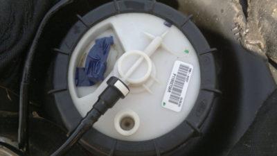 рено логан замена топливного фильтра