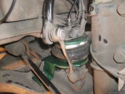 пневмоподвеска форд транзит установка