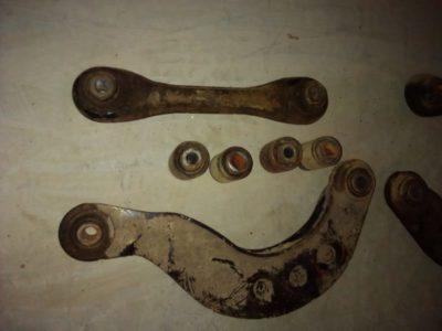 замена сайлентблоков передних рычагов форд фокус 2