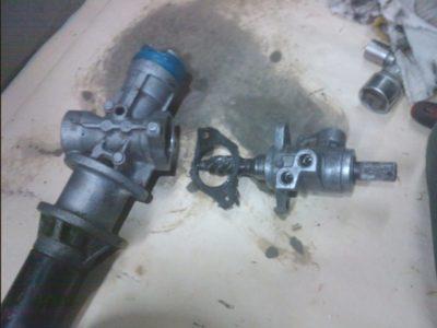 ремонт рулевой рейки мерседес вито