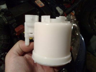 замена топливного фильтра ниссан альмера классик