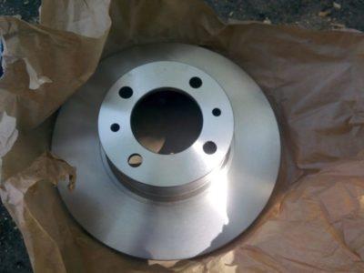 замена тормозных дисков на ваз 2107