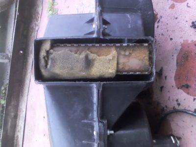 шевроле нива замена радиатора печки