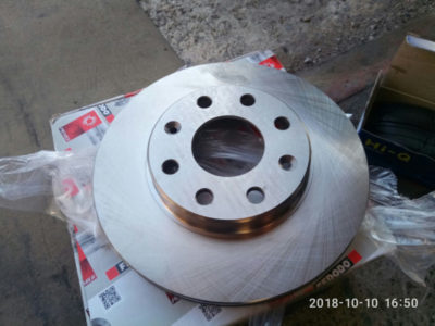 замена тормозных дисков нива шевроле