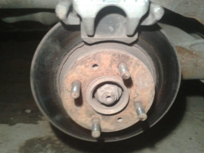 замена тормозных колодок на ваз 2107 передних