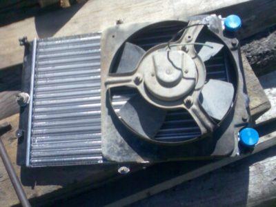 как снять радиатор охлаждения ваз 2114