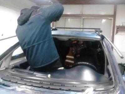 замена лобового стекла рено логан