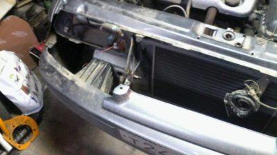 лада калина замена радиатора
