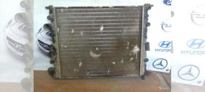 рено логан замена радиатора