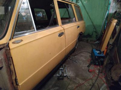 ваз 2106 ремонт кузова