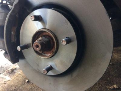 замена тормозных дисков ниссан кашкай