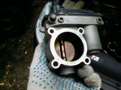 форд фокус 3 чистка дроссельной заслонки