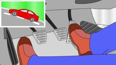 как трогаться на механике с места
