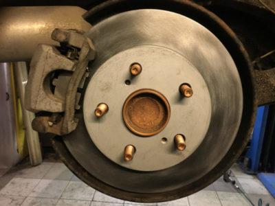 замена тормозных колодок форд