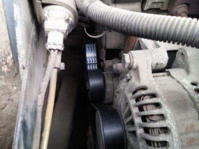 замена ремня генератора на ваз 2114