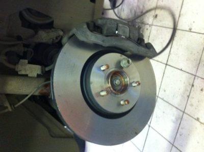 форд фьюжн замена задних колодок